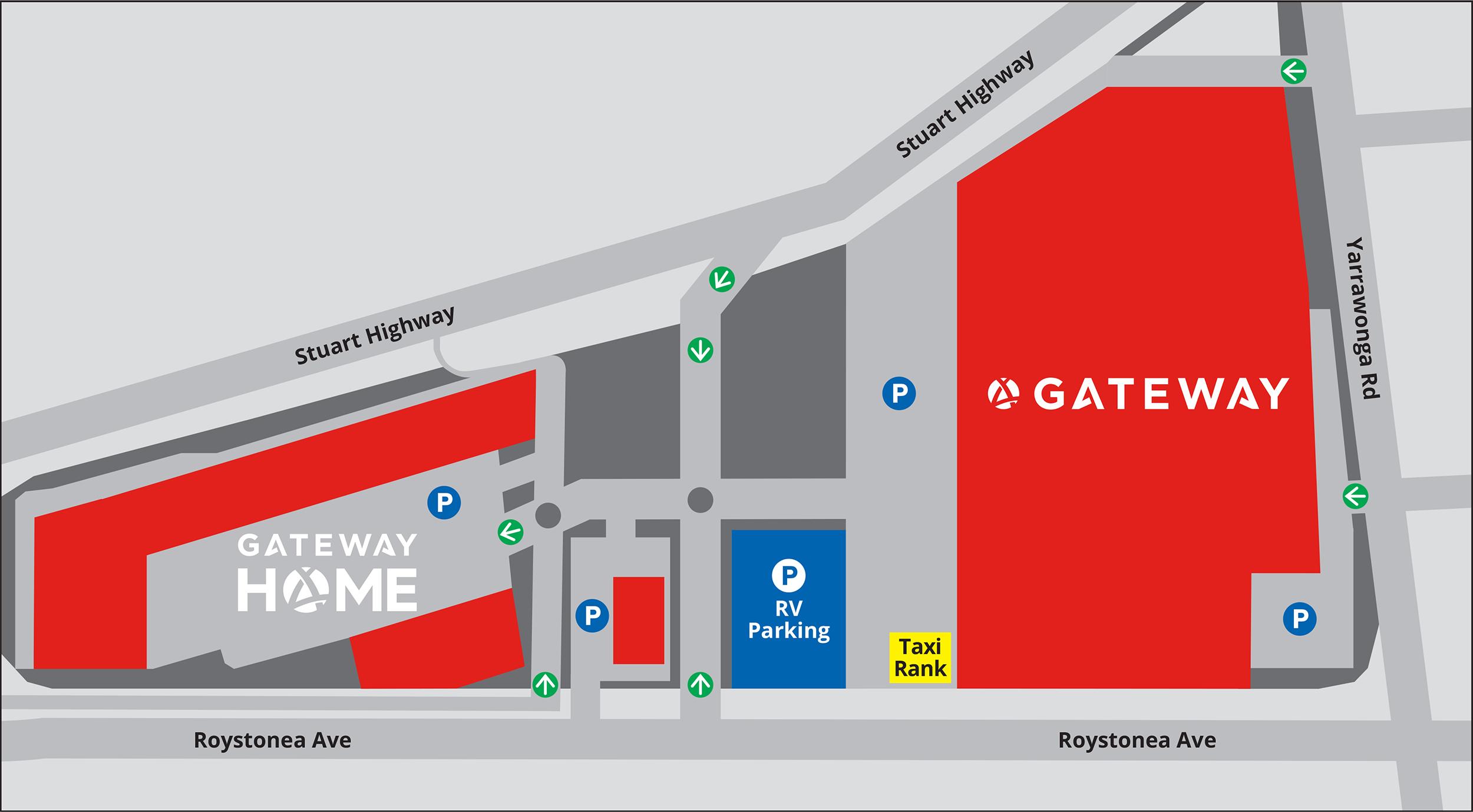 Gateway NT - Map
