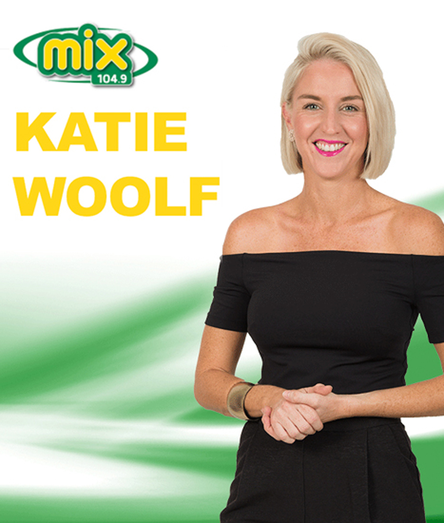 Katie Woolf Broadcasting Live at 9am this Wednesday!