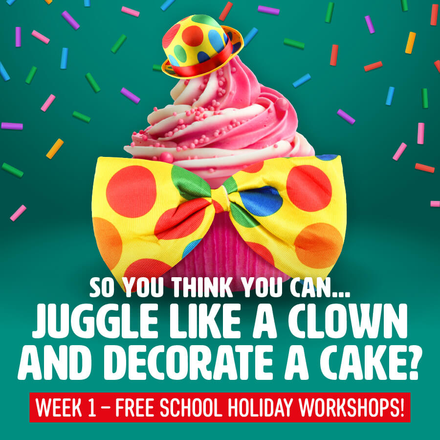 So You Think You Can… Juggle Like a Clown and Decorate a Cake?