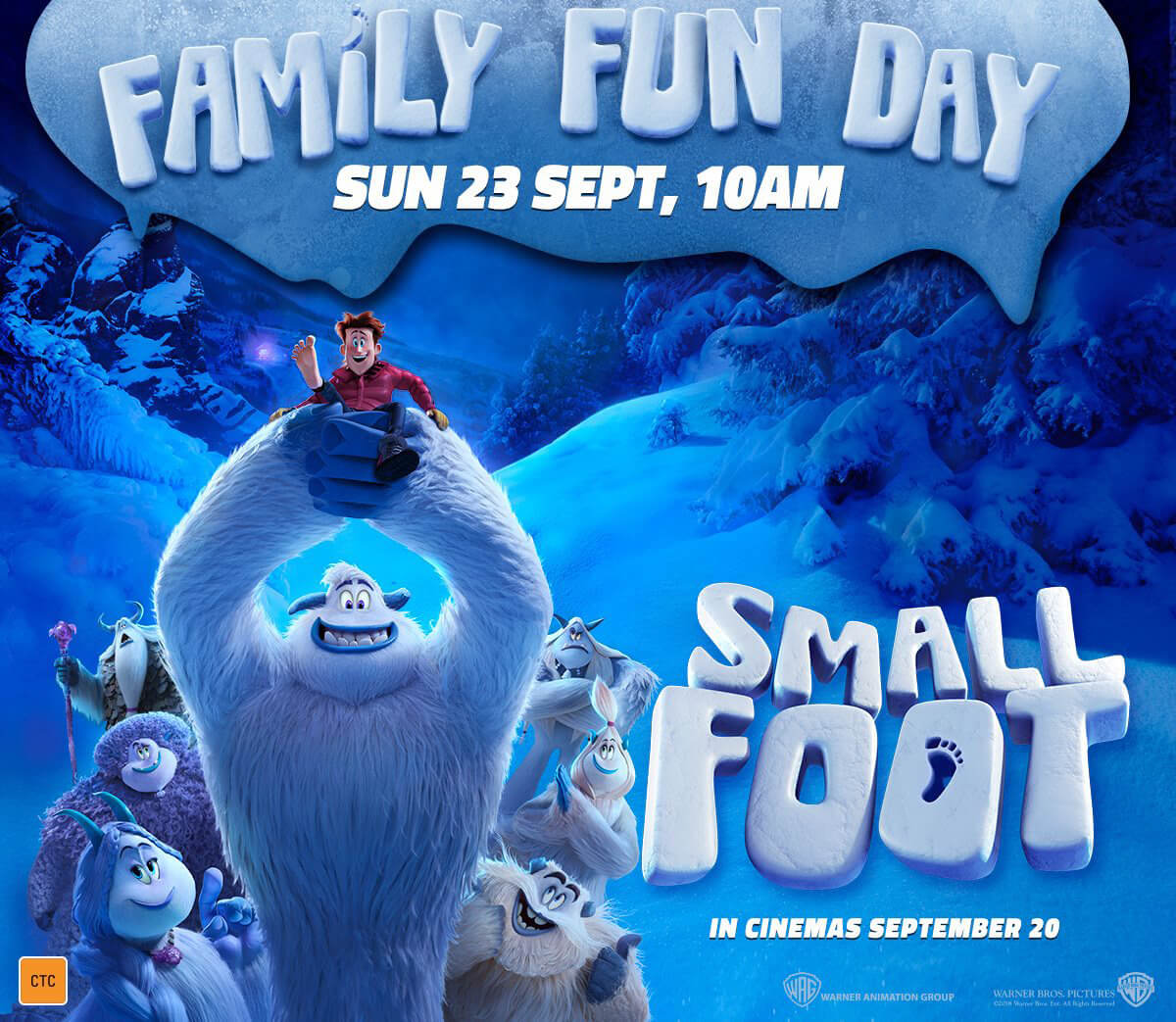 Smallfoot – Family Fun Day