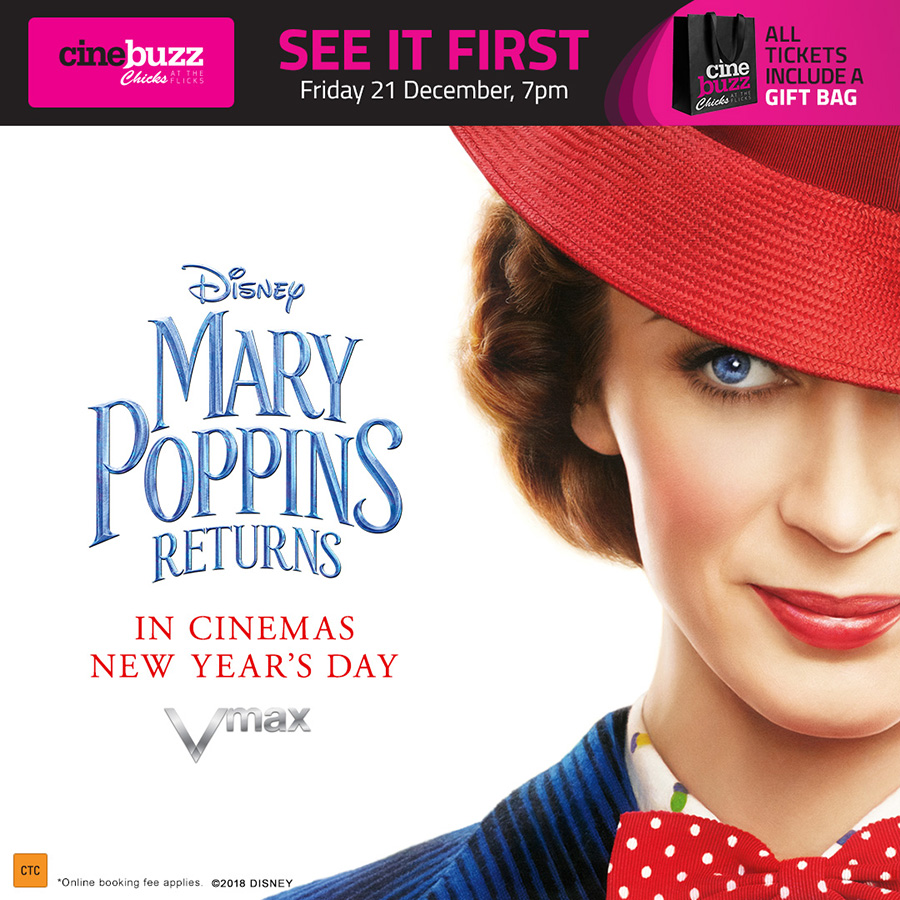 Chicks at the Flicks – Mary Poppins Returns