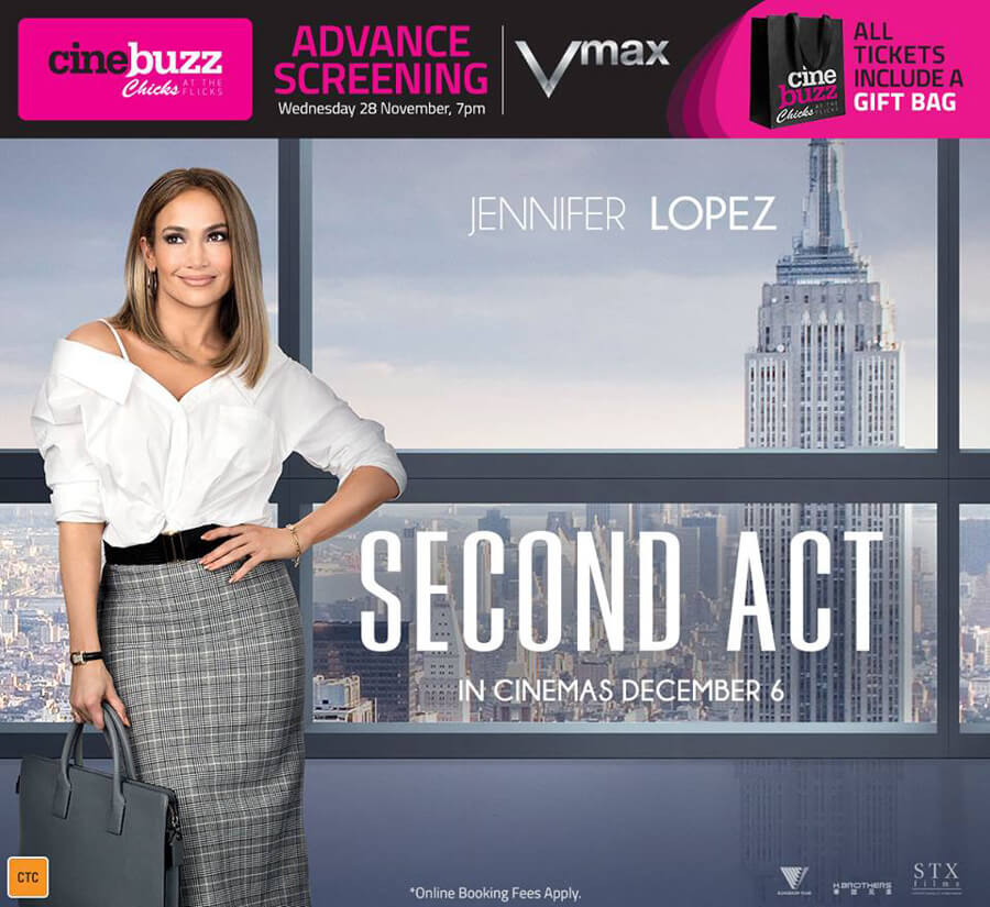 Second Act – Chicks at the Flicks at Event Cinemas