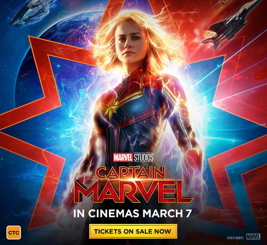 Captain Marvel – Vmax Advance Screening at Event Cinemas