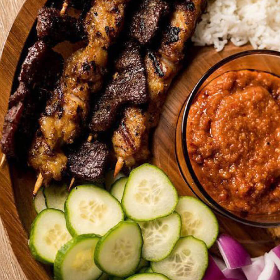 Satay Time $15 Meal Deal