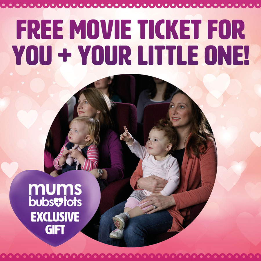 Be Rewarded with a FREE 'Bring Your Baby' Movie Ticket!
