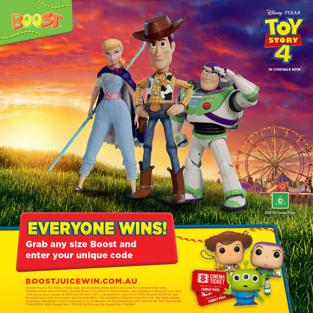Boost Toy Story 4 Campaign