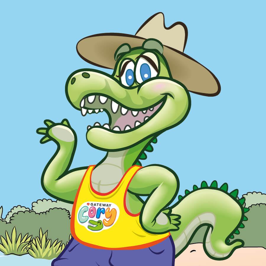 Meet Cory the Croc!