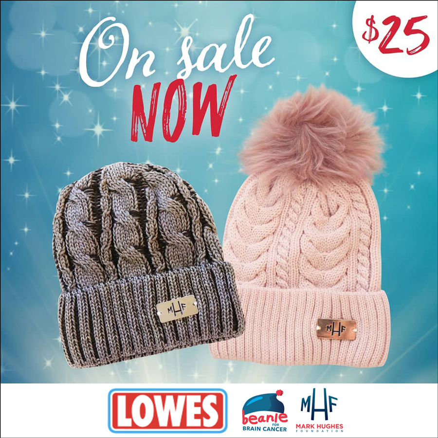 Lowes Proudly Supporting Beanie for Brain Cancer