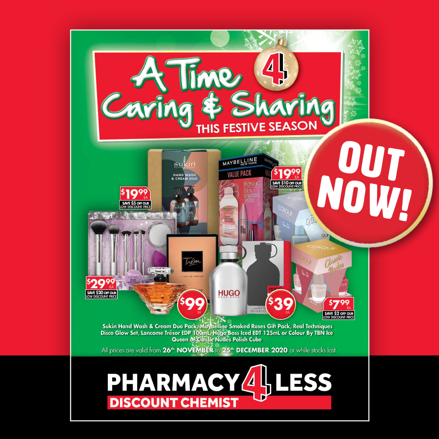 Pharmacy 4 Less Christmas Catalogue Out Now!