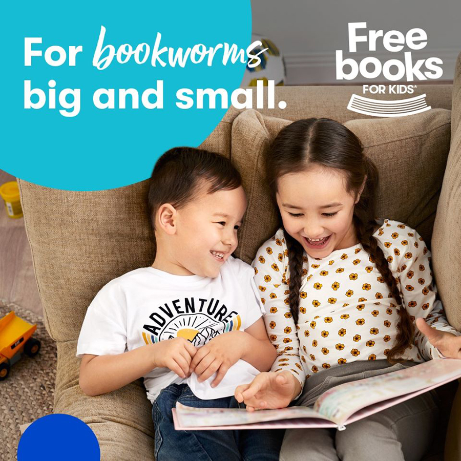 Free Books for Kids at BIG W Gateway