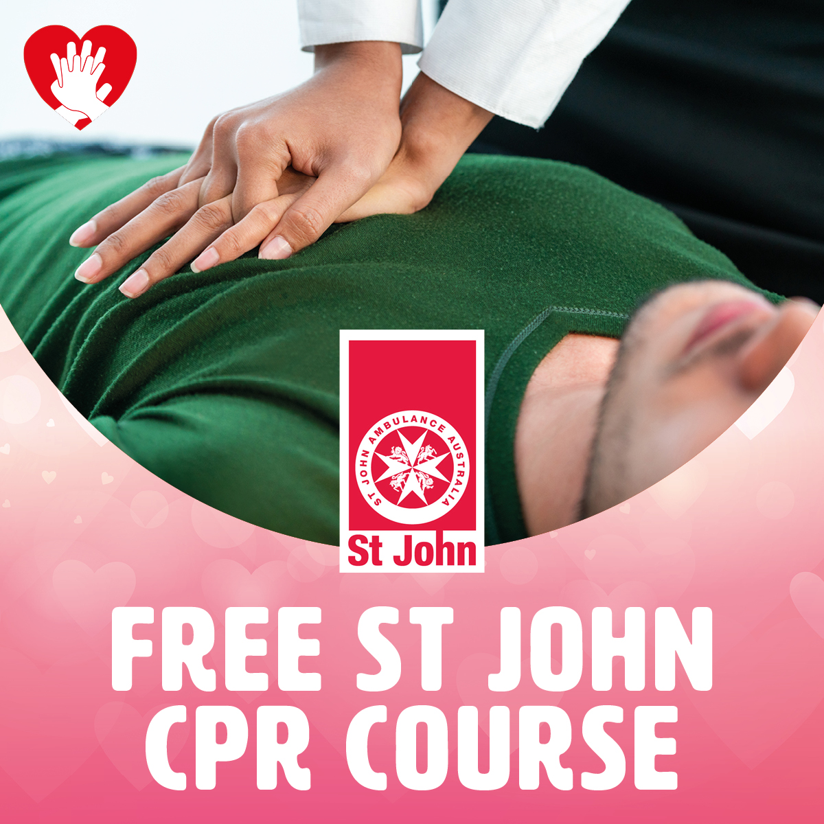 FREE St John CPR Course at Gateway