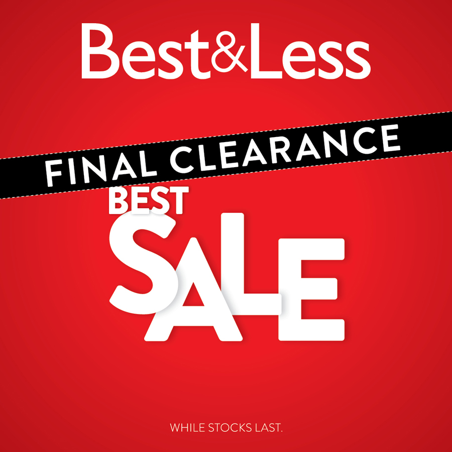Final Clearance on now at Best&Less