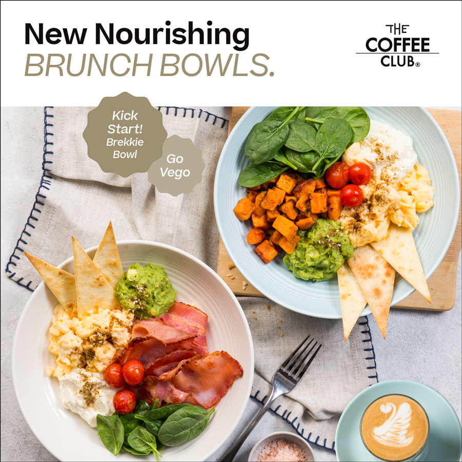 New Summer Bowls & Drinks at The Coffee Club