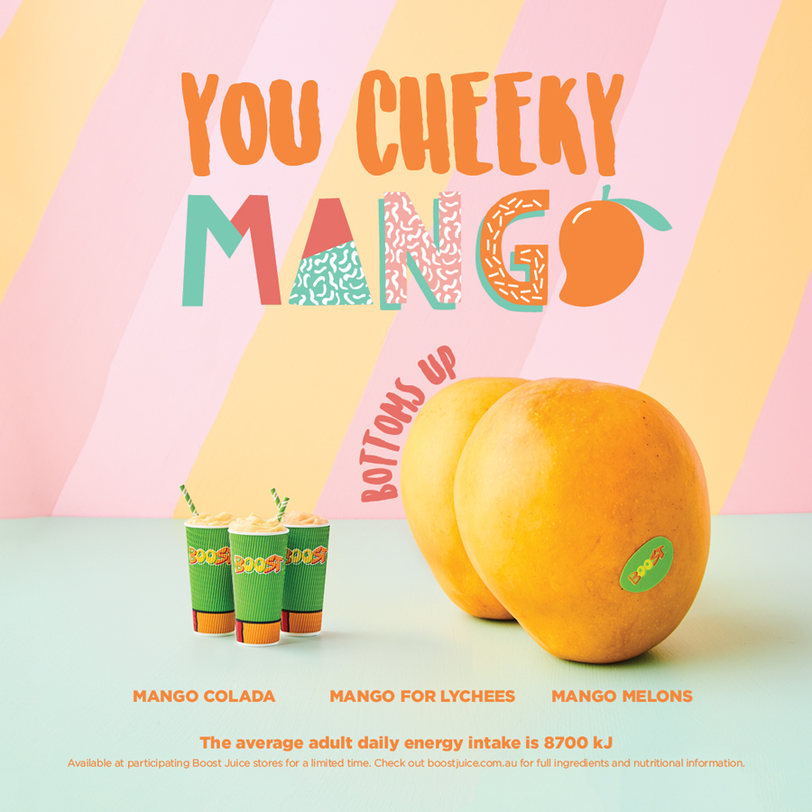 Cheeky Mango at Boost Juice