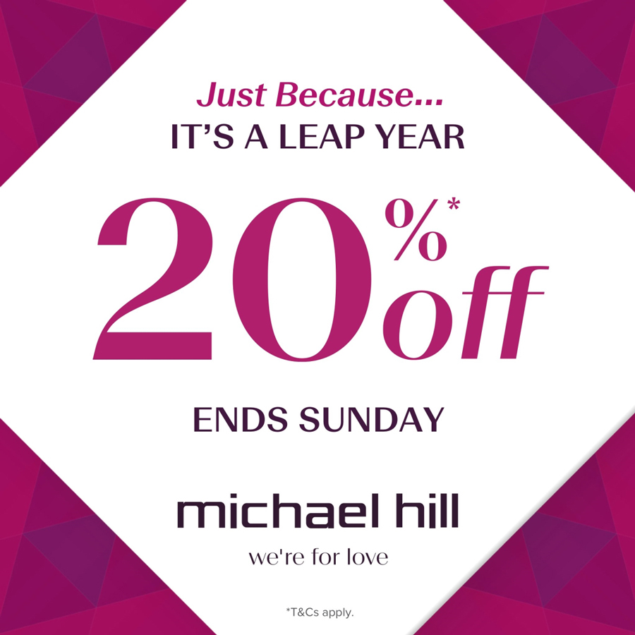 Celebrate the Leap Year at Michael Hill