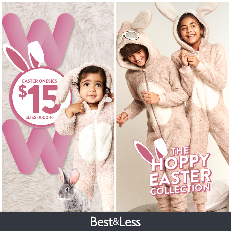The Hoppy Easter Collection at Best&Less!