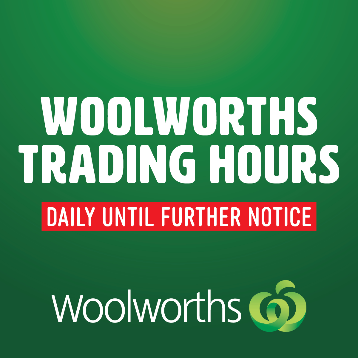 Woolworths Trading Hours Open Till 10pm Daily