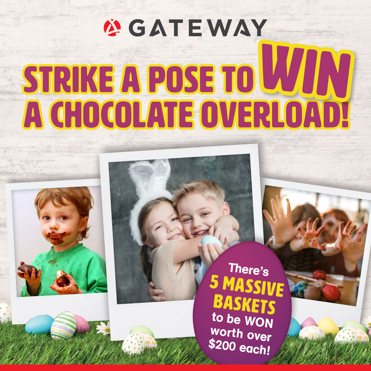 Strike a Pose to WIN a Chocolate Overload!