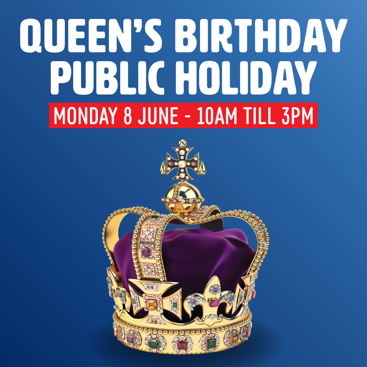 Queens Birthday Trading Hours