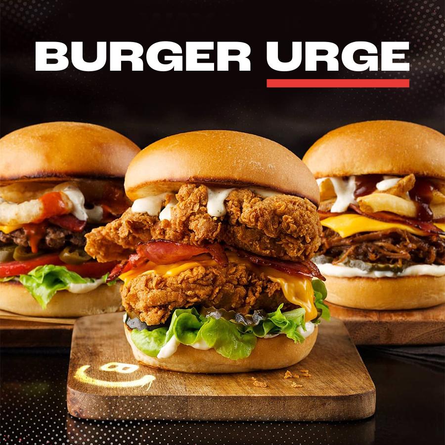 Burger Urge's New Menu