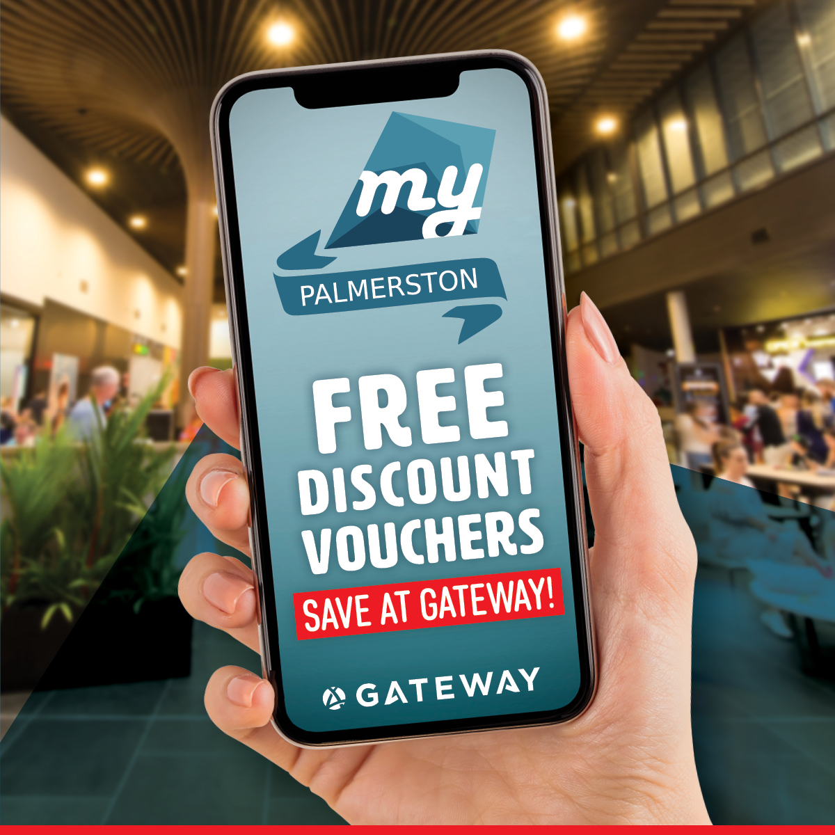 myPalmerston Discount Vouchers at Gateway