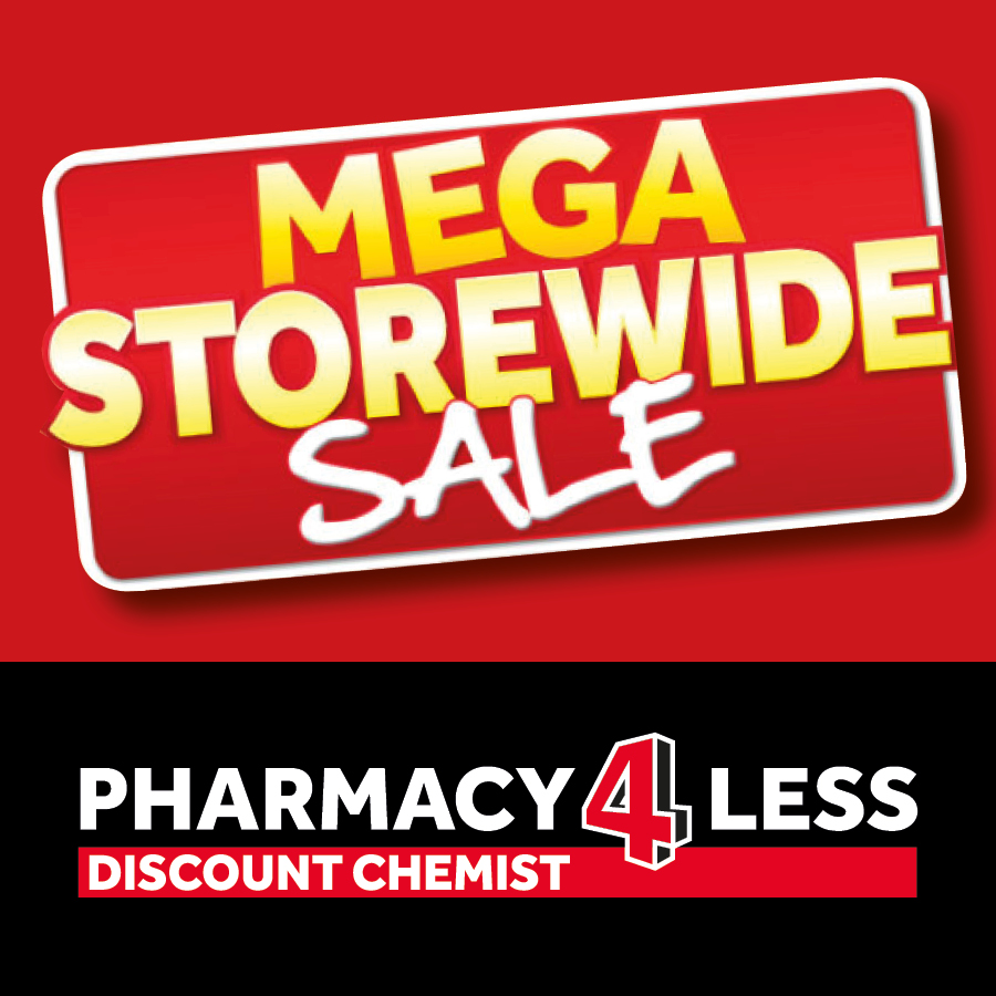Mega Storewide Sale Now On At Pharmacy 4 Less