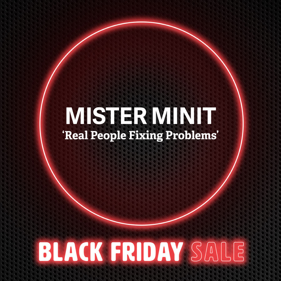 Spend & Save across 5 big days at Mister Minit