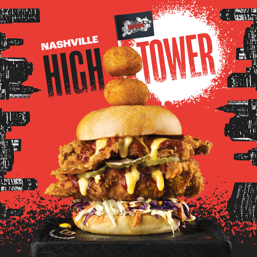 The NEW Nashville High Tower Has Arrived At Burger Urge
