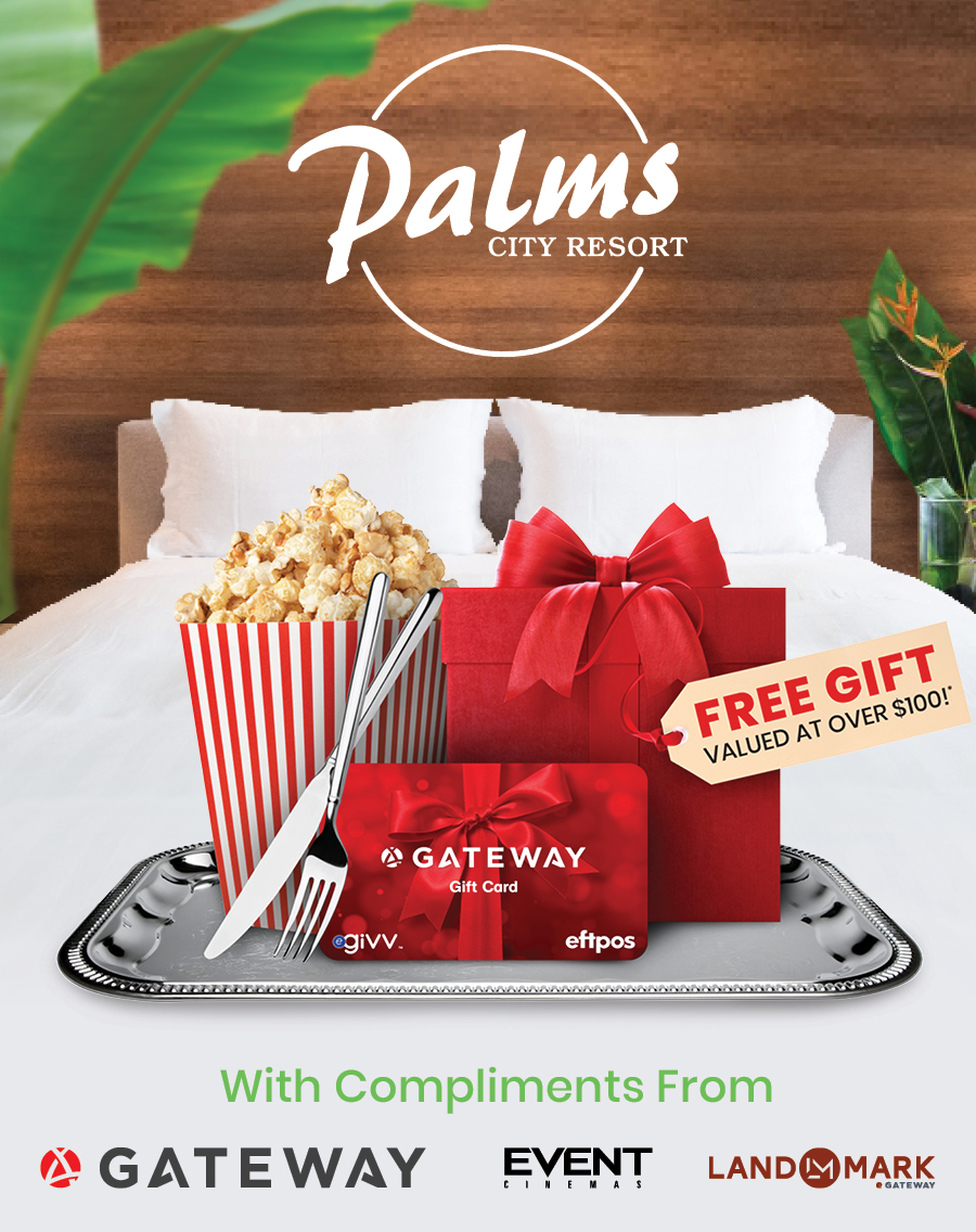 Stay at Palms City Resort & Be Rewarded with an Exclusive FREE Gift!