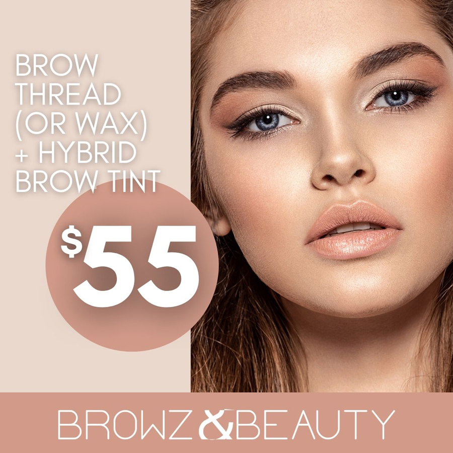 Save On Brows at Browz & Beauty
