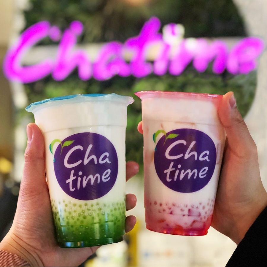 Two Regular Chatime Drinks For $9.50 on Mother's Day