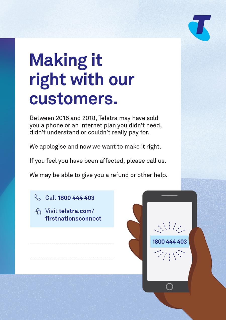 Telstra is Making it Right With Customers