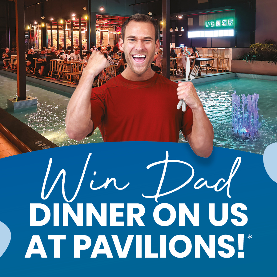 Fess Up To Dad $250 Pavilions Dining Experience Winners
